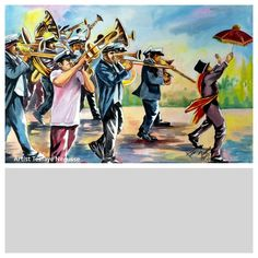 New Orleans,  Second Line