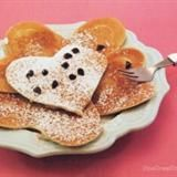 Easy Valentine Heart Pancakes Tutorial
