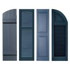 Exterior Shutter shopping for your home can be a difficult and time consuming process. Exterior Shutter shopping for your home can be a difficult and time consuming process. Modern Shutters, House Shutters, Modern Windows, House Windows, Cottage Shutters, Vinyl Shutters, Cottage Exterior, Exterior Shutter Colors, Exterior Wall Design