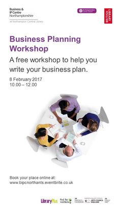 Free business support workshop at Northampton Central Library.