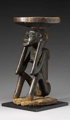 Africa   Stool from the Chokwe people of Angola   Wood
