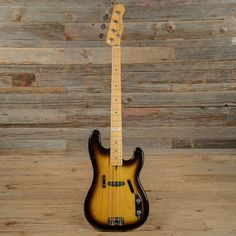 2002 FENDER ARTIST SERIES STING PRECISION BASS SUNBURST