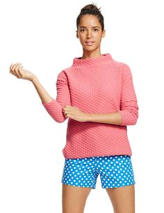 Tilly  Sweater- Boden Possibly my favorite sweater ever. great texture, cute and color!