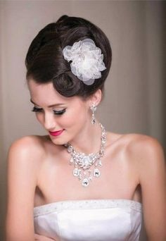 15 Fabulous Formal Hairdos Wedding Hair & Beauty Photos on WeddingWire