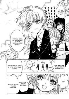 Sakura x Syaoran. MangaHere Mobile