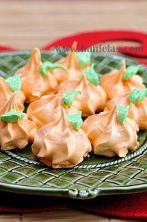 Haniela's: Pumpkin Meringue Cookies