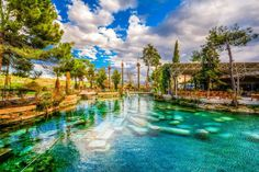 Fancy is the place for you to find amazing things curated by our global community. Discover and collect the things you love, and buy it all in one place! Stuff To Do, Things To Do, Bar Fancy, Pamukkale, Social Bookmarking, Turkey Travel, Hot Springs, World Heritage Sites, Outdoor Pool