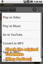 TubeMate YouTube Video Downloader enables you to quickly access, search, share, and download YouTube videos.Because downloading always happens in the background, you can go on watching YouTube, surfing the Internet, tweeting, and listening to your music as you download.