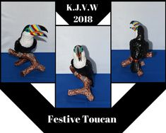 https://flic.kr/p/J87PoW | Festive Toucan | This collage is originally made to post on Deviantart, but post it on Pinterest as well.