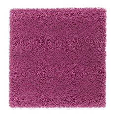 HAMPEN Rug, high pile - dark pink - IKEA