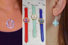 4 PIECE JEWELRY GRAB BAG!  4 Fabulous Jewelry Accessories!  STARTING AT    77% OFF