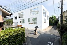 Built by Sou Fujimoto in Oita, Japan with date 2008. Images by Iwan Baan. A home for two plus a dog. The house itself is comprised of three shells of progressive size nested inside one anothe...