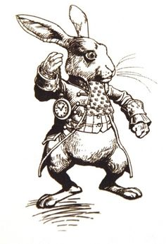 The White Rabbit - Tim Burton's Alice in Wonderland Concept Art