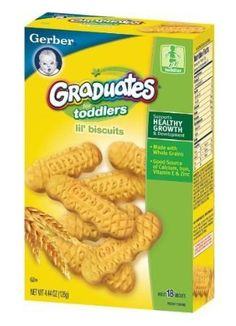 Gerber Graduates Biter Biscuits, 4.44-Ounce (Pack of 4)