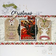 Two more The Most Wonderful Time Of The Year layouts! | Scraptastic Club