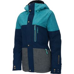 Tackle the slopes in this O'Neill® women's Coral snow jacket, which offers… Snow Fashion, Winter Fashion, Men's Coats And Jackets, Winter Jackets, Women's Coats, Beach Volleyball, Coats For Women, Jackets For Women, Womens Snowboard Jacket