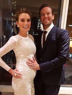Armie and Elizabeth Chambers Hammer Welcome a Son