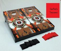 Firefighter Cornhole game