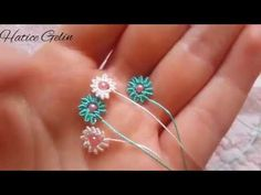 Hand Embroidery Flowers, Flower Embroidery Designs, Hand Embroidery Patterns, Baby Knitting Patterns, Beaded Jewelry Patterns, Macrame Patterns, Beading Patterns, Seed Bead Tutorials, Beading Tutorials