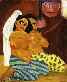 [ N ] Emil Nolde - Akte und Eunuch (Nudes and Eunuch) (191…   Flickr