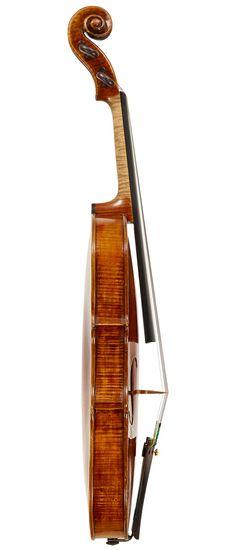 """The 'Dorothy DeLay' A FINE ITALIAN VIOLIN BY GIOVANNI BATTISTA GUADAGNINI, TURIN, 1778 Labeled, """"Joannes Baptifta Guadagnini, Cremonenfis fecit Taurini, 1778, GBGT""""  LOB 35.3 cm"""