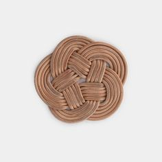 Knotted Leather Trivet– Shoppe Amber Interiors Amber Interiors, Weekend Projects, Leather Cord, Colorful Backgrounds, Knots, Handmade, Kitchen Elevation, Ph, Ranch