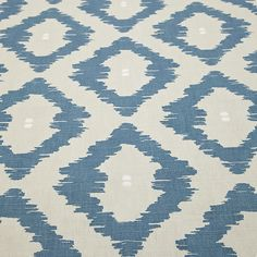 Buy Indian Blue John Lewis Patagonia Furnishing Fabric from our View All Fabrics range at John Lewis & Partners. Indian Blue, Kids Zone, Kids Storage, Fabric Wallpaper, Fabric Online, Home Textile, John Lewis, Patagonia, Color Schemes