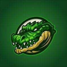 Mascot Design, Logo Design, Graphic Design, Crocodile Logo, Esports Logo, Bold Logo, Game Logo, Vector Photo, Logo Sticker