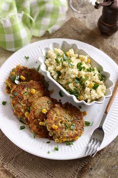 Juditka konyhája: ~ CUKKINIS KUKORICAPUFFANCS ~ Fried Rice, Fries, Ethnic Recipes, Food, Essen, Meals, Nasi Goreng, Yemek, Stir Fry Rice