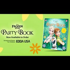 Disney #Frozen Fever Party Book, 36 Great Ideas for Creating Your Own Frozen Party, published by @eddausa is available to order on #Amazon. Link available on profile! Tag a friend you know loves everything Frozen! #ChildrensBooks  #DisneyFrozenFeverPartyBook #Disney #Frozen #FrozenFever #Party #Book #PartyIdeas #PartyFun #AnnaElsa #Recipes #Crafts #Invitations #EddaUSA