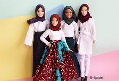 "3,957 Likes, 45 Comments - Mini Hijab Fashion! (@hijarbie) on Instagram: ""Have a blessed Friday and enjoy the rest of your weekend! #hijarbiestyle #hijarbie"""