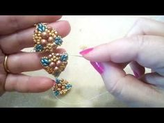 Tutorial Orecchini Selce (51) - YouTube