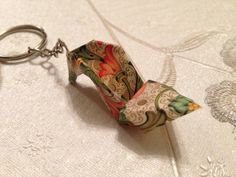 Origami Paper Shoe keyrings by SLHJewellery on Etsy, £4.00