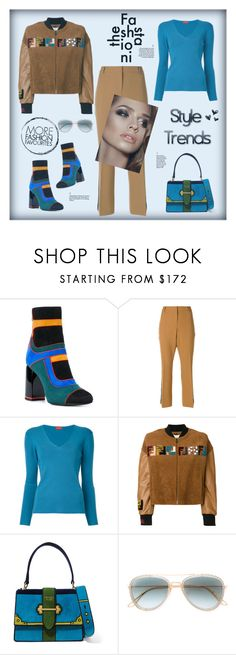 """""""Style trends"""" by zabead ❤ liked on Polyvore featuring Pierre Hardy, LIU•JO, Des Prés, Fendi, Prada and Elie Saab"""