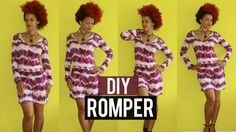 How-to Colorful DIY Romper with Sleeves