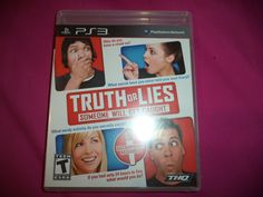 Factory Sealed PS3 Truth or Lies game ~ NEW