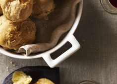 Australian Gourmet Traveller French recipe for gougères with Gruyère by Jacques Reymond.