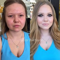 Never trust a woman wearing makeup... These 29 photos are proof!
