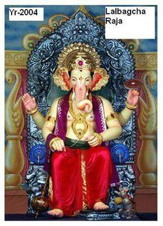 Lalbaugcha Ganesh Image 2004