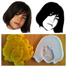 3D Printed Cookie Cutter / Play-dough Mold from a Photo #3D_Printing #baking #illustrator