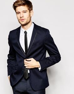 Ben Sherman Blazer with Trim Lapel