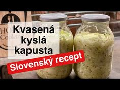Domáca kvasená kyslá kapusta v pohári Slovenský recept - YouTube Pickles, Sweet Potato, Cucumber, Youtube, Vegetables, Health, Tips, Cheerleading, Drink