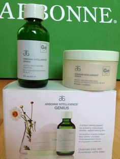 If you haven't tried Arbonne's Genius yet, you should. It's a totally safe botanical retinoid. My skin has been transformed (not kidding!) in just a week.