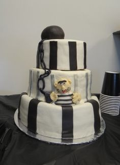 Prison Officer Retirement Cake Great Cakes Pinterest