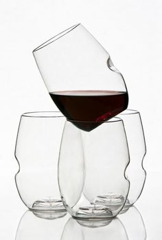 GoVino plastic wine tumblers. Perfect for a picnic or on a boat!