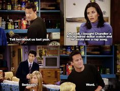 Friends is the best show. Friends Moments, Friends Show, Friends Forever, Chandler Friends, Friends Scenes, Friends Episodes, Funny Moments, Ross Geller, Chandler Bing