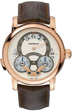 Montblanc Nicolas Rieussec Rising Hours Watch #Fashion #Men #Watch