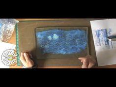 Basis technieken Gelli Plate -- Gelli Printing Plate Tutorial!