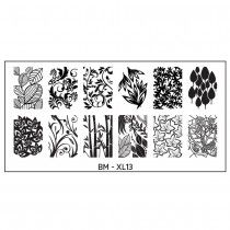 Bundle Monster New Nail Stamping Plates