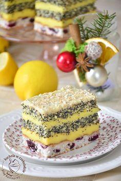 kuchnia w czekoladzie: Makowo- wiśniowa panienka